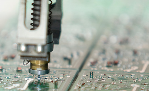 A tool head and selective assembly surface mount technology.